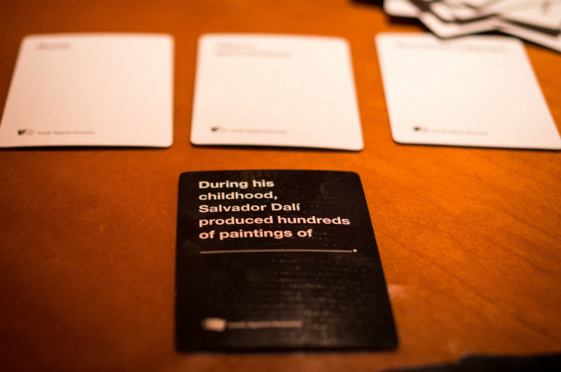 21 thoughts we all have while playing Cards Against Humanity